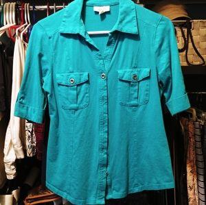 Like New short sleeve button up shirt